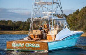 """Family Circus Fleetwood"" is a custom 46' yacht"