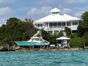 Charles' home in Marsh Harbour of the Bahamas